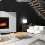 cheminée électrique décorative